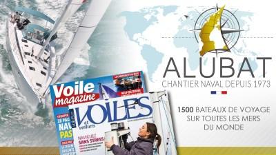 Newsletter_1704_alubat_pub 1 500 bateaux exceptionnels sur toutes les mers du monde - iStudio - Agence Web 360° à Cholet