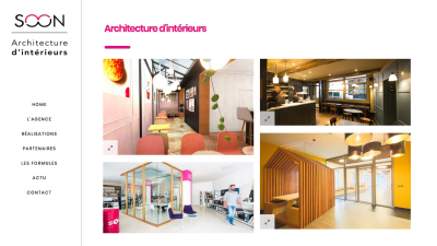 Newsletter_1707_iperfect_Soon_architecture SOON ARCHITECTURE - iStudio - Agence Web 360° à Cholet