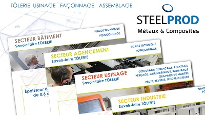 newsletter_17_10_Steelprod COMMUNICATION COMMERCIALE - iStudio - Agence Web 360° à Cholet