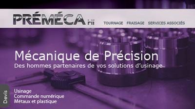 Newsletter_1801_premeca Refonte du site PRÉMÉCA HP - iStudio - Agence Web 360° à Cholet