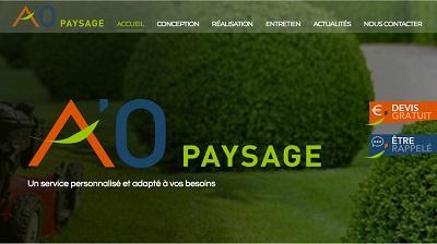Newsletter_1802_aopaysage Un site pour votre jardin - iStudio - Agence Web 360° à Cholet