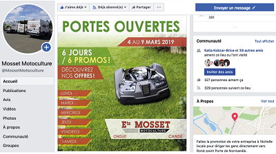 Newsletter_1902_Mosset FACEBOOK / NEW support de COM - iStudio - Agence Web 360° à Cholet