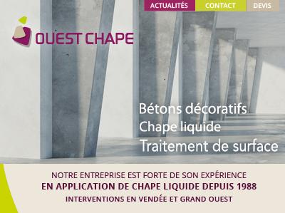 iNews_iStudio_08_2019_ouestchape2 Site Web Béton en Vendée - iStudio - Agence Web 360° à Cholet