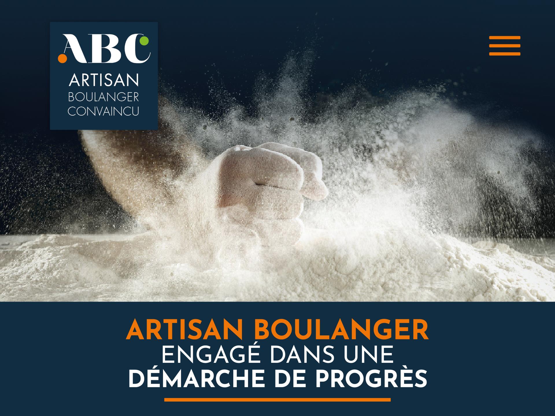 Artisan-boulanger-convaincu-ABC Presse et web pour la boulangerie artisanale - iStudio - Agence Web 360° à Cholet