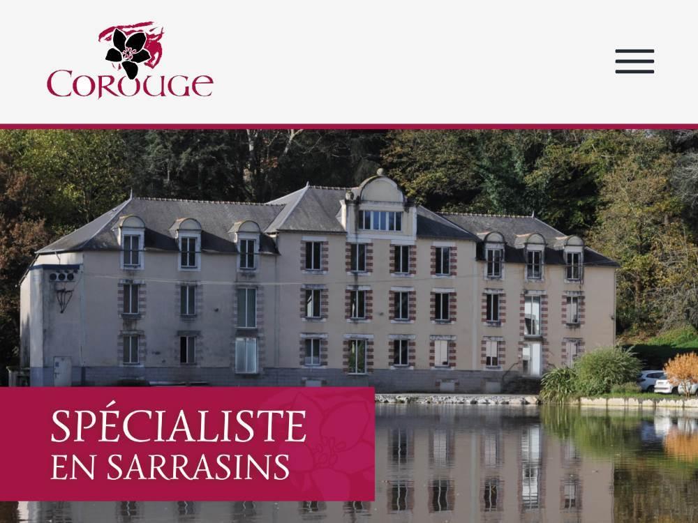 iStudio-Minoterie-Corouge LA MINOTERIE COROUGE S'ANCRE DANS LE DIGITAL - iStudio - Agence Web 360° à Cholet