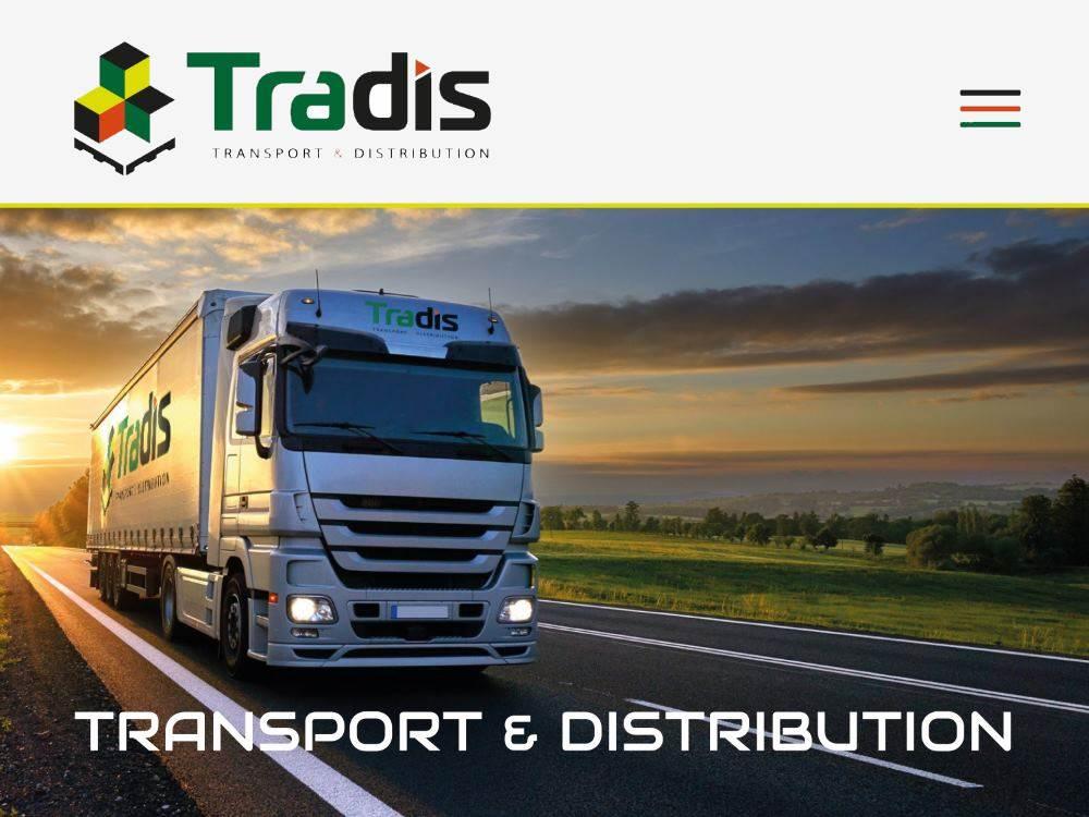 transports-tradis-cholet NOUVEL ÉLAN POUR TRADIS - iStudio - Agence Web 360° à Cholet