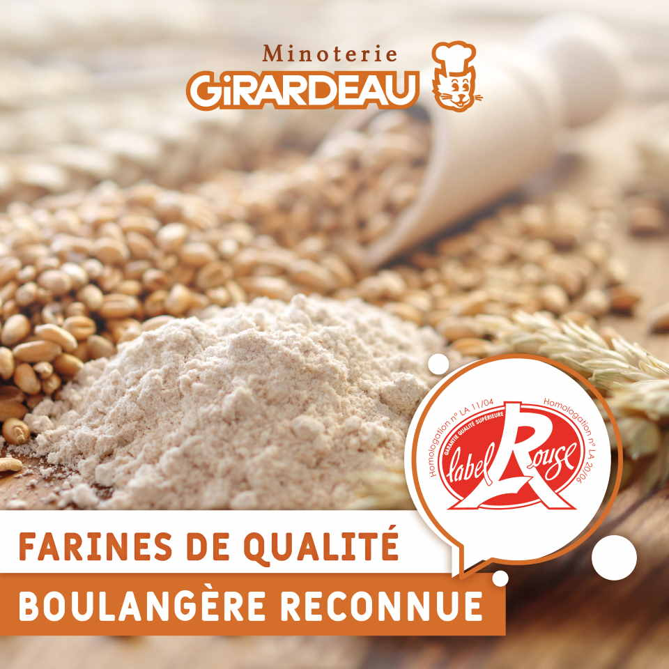 FARINES RECONNUES label rouge